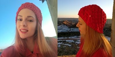 зимна аксесоар подарък плетиво
