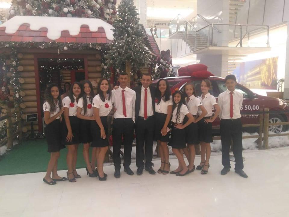 da208ab243 Crianças e adolescentes do SCFV do Comum – Monte Alegre realizaram  apresentação de violino no Shopping Midway Mall