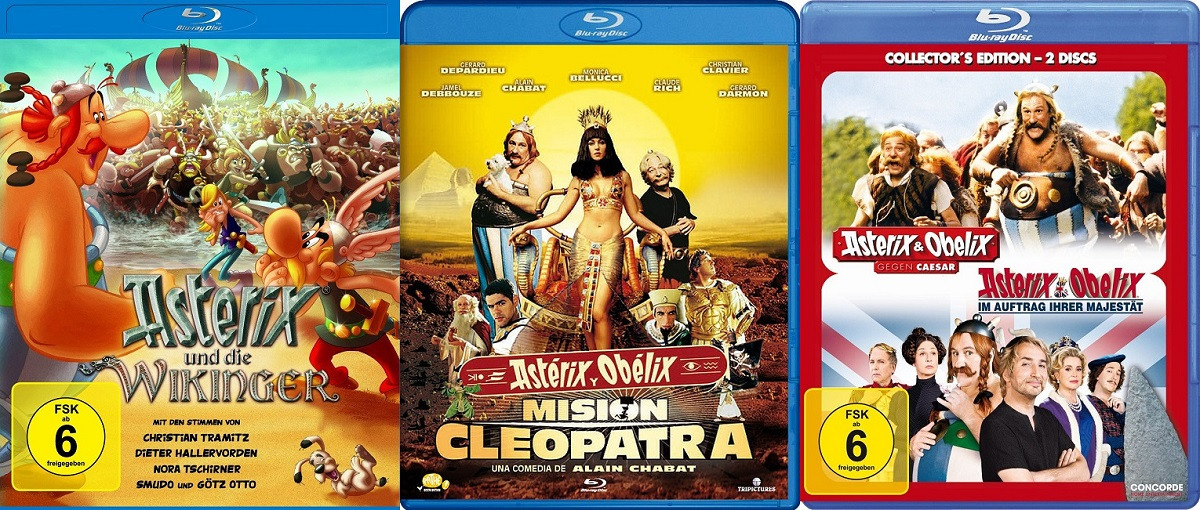 asterix and obelix meet cleopatra movie 1999