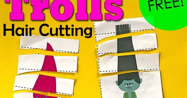 trolls hair cutting pack totschooling
