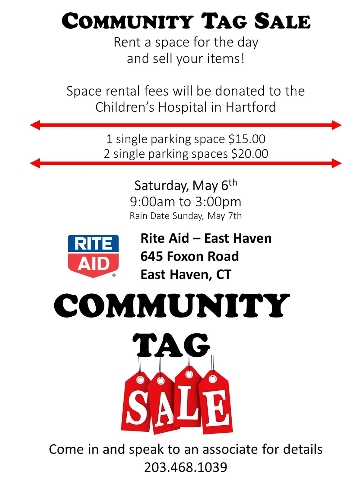 Home Place: Rite Aid in East Haven CT - A Community Tag Sale