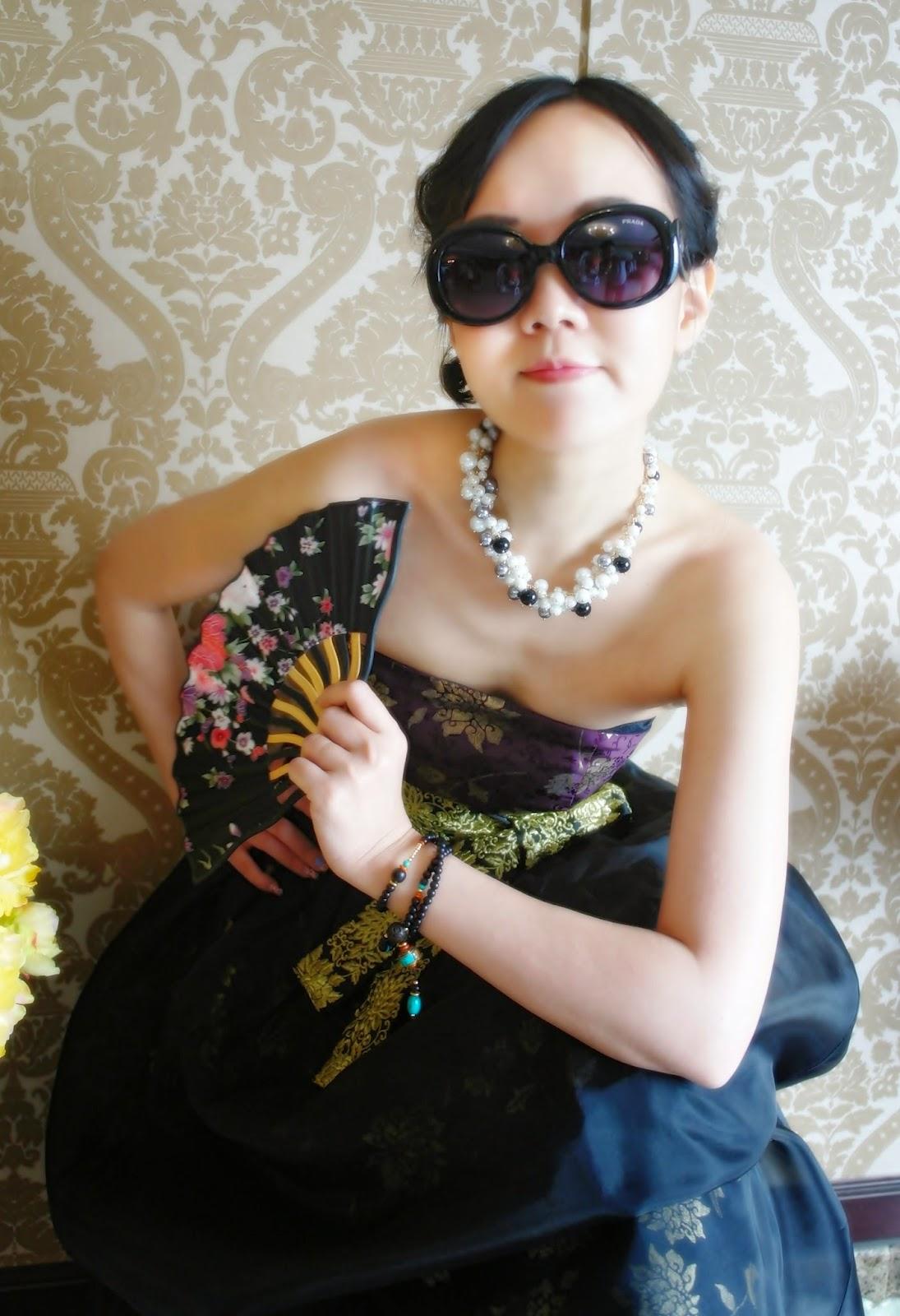 Moranbaepil Modern Fusion Hanbok 퓨전한복 | meheartsoul.blogspot.com