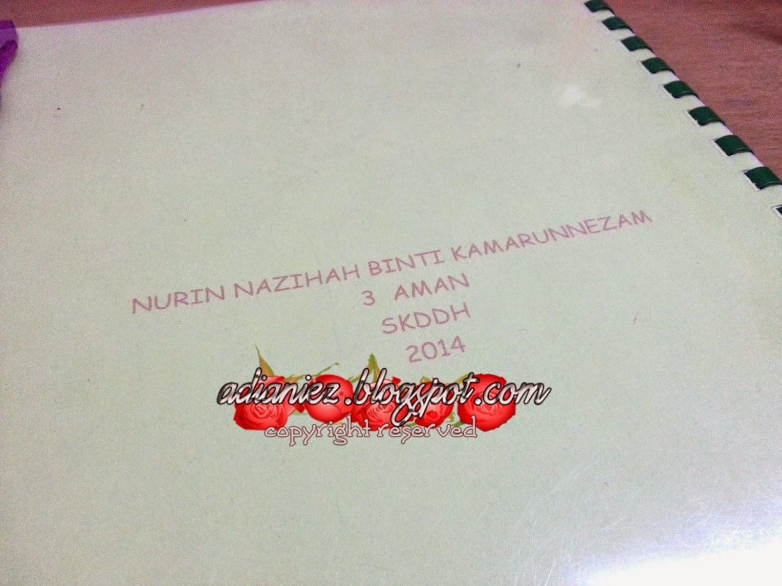 MARI KITA BUAT BUKU SKRAP ~ HAIWAN :-) PROJEK IBU & ANAK