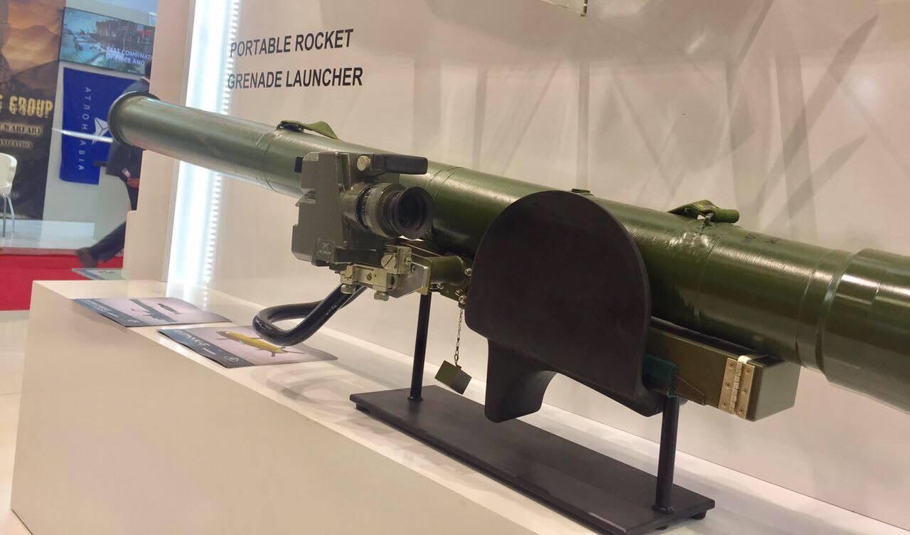 Переносний реактивний гранатомет РК-4 «Інгул» - Ukrainian Military Pages