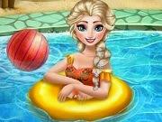 Frozen Elsa Swimming Pool