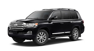 Toyota Land Cruiser is luxury modern SUVs