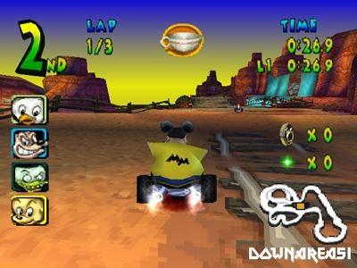 Magical Racing Tour PSX Gameplay Screenshot Walt Disney World Quest Magical Racing Tour PS1 ISO