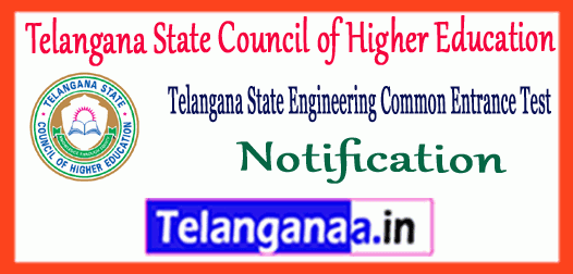 TS ECET Telangana State Engineering Common Entrance Test 2019 Notification Application Time Table