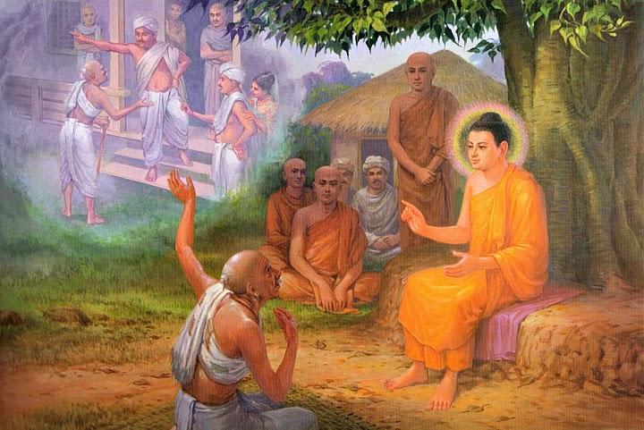 Kunjungan Pertama Buddha ke Kampung Halaman