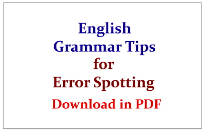 Tricks To Solve Error Correction in Sentence Question for Bank Exam Part-1