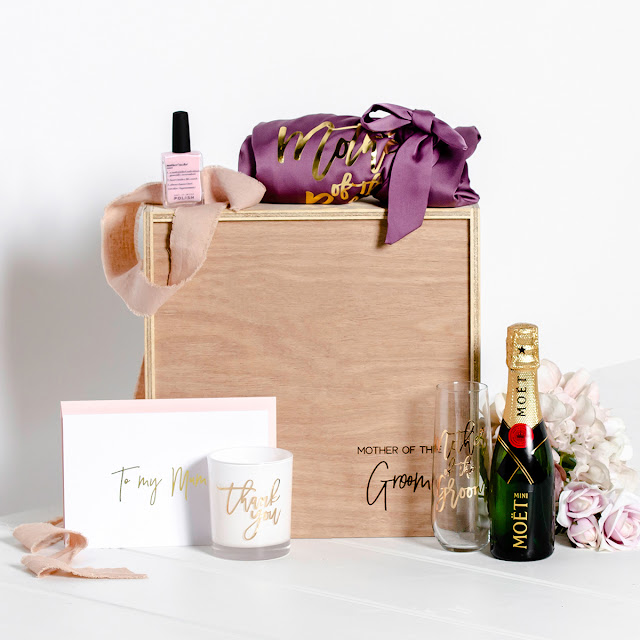PERSONALISED BRIDAL GROOMSMEN PARTY GIFTS HAMPERS