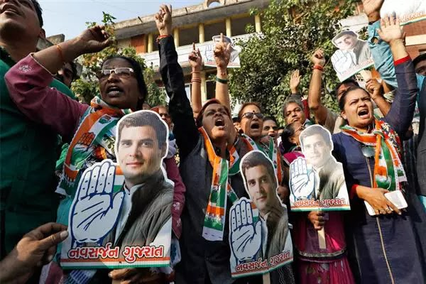 Cong's come back in three states stops saffron surge in India