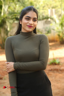 Tollywood Actress Punarnavi Bhupalam Latest Po Gallery in Black Trouser Pant at Pittagoda Movie Interview  0026.JPG