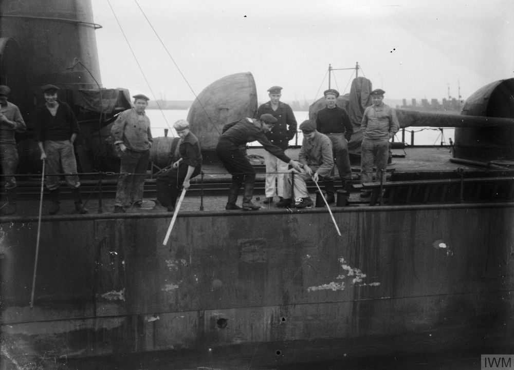 Scuttling at Scapa Flow