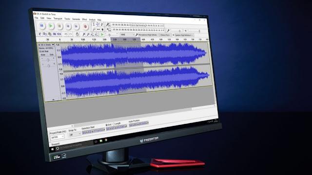 تحرير و تعديل ملفات الصوت