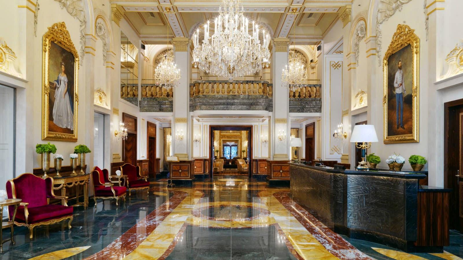 hotel imperial vienna lobby