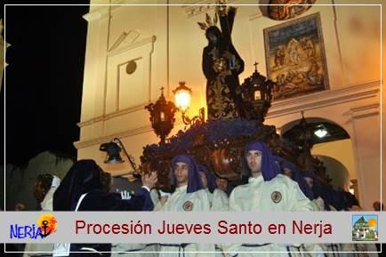 El Jueves Santo Procesión de Nuestro Padre Jesús Nazareno y Mª Stma. De la Esperanza