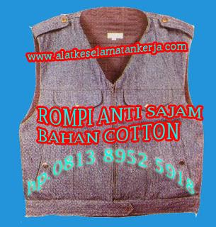 Rompi anti sajam bahan Jeans