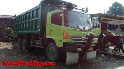 Gambar dump truck hino lohan