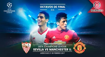 EN VIVO: Sevilla vs Manchester United por la UEFA Champions League 2018