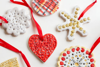 12 Salt Dough Ornament Ideas for Old-Fashioned Christmas Fun