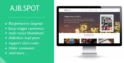 Ajbspot – Responsive MultiPurpose Blogger Template