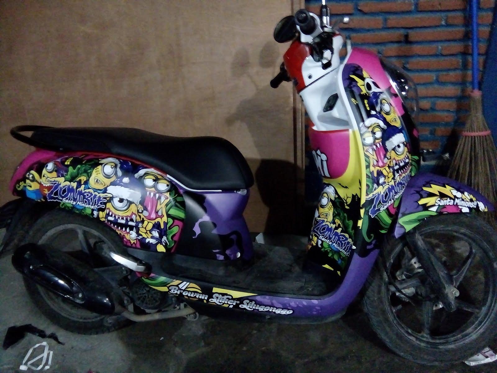 Brownn Silugonggo C2 Sticker Syndicate Decal Scoopy Jurix Minion Zombie