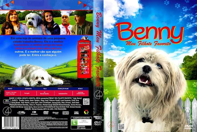 Capa DVD Benny Meu Filhote Favorito