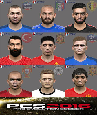 PES 2016 Facepack Eurocopa 2016 V2 by Jonathan Facemaker