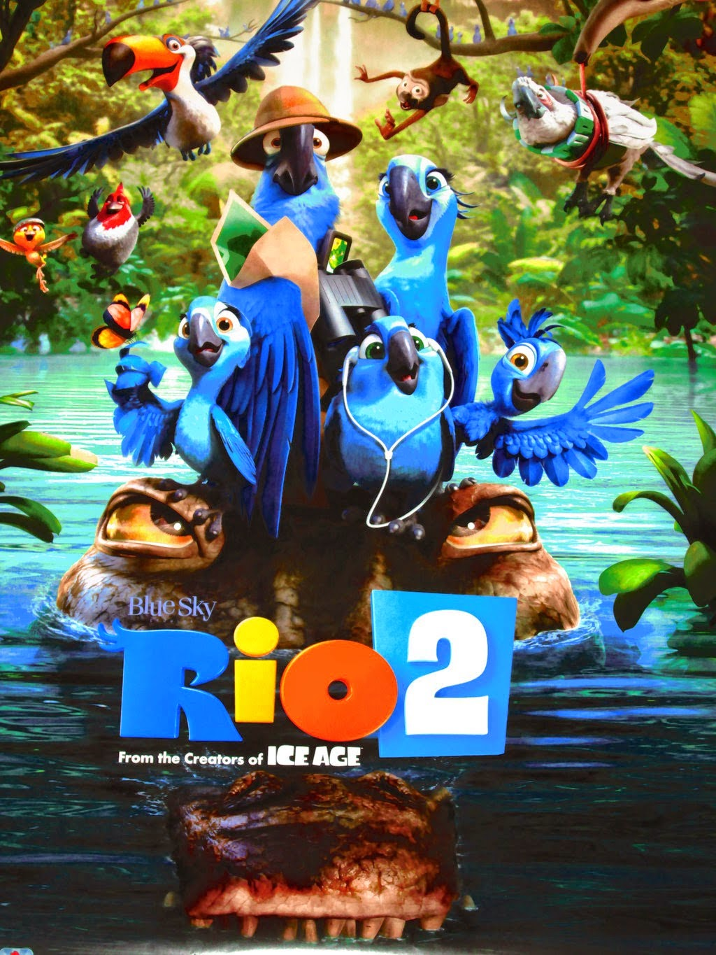 Watch Rio 2 (2014) Full Movie Online For Free English Stream