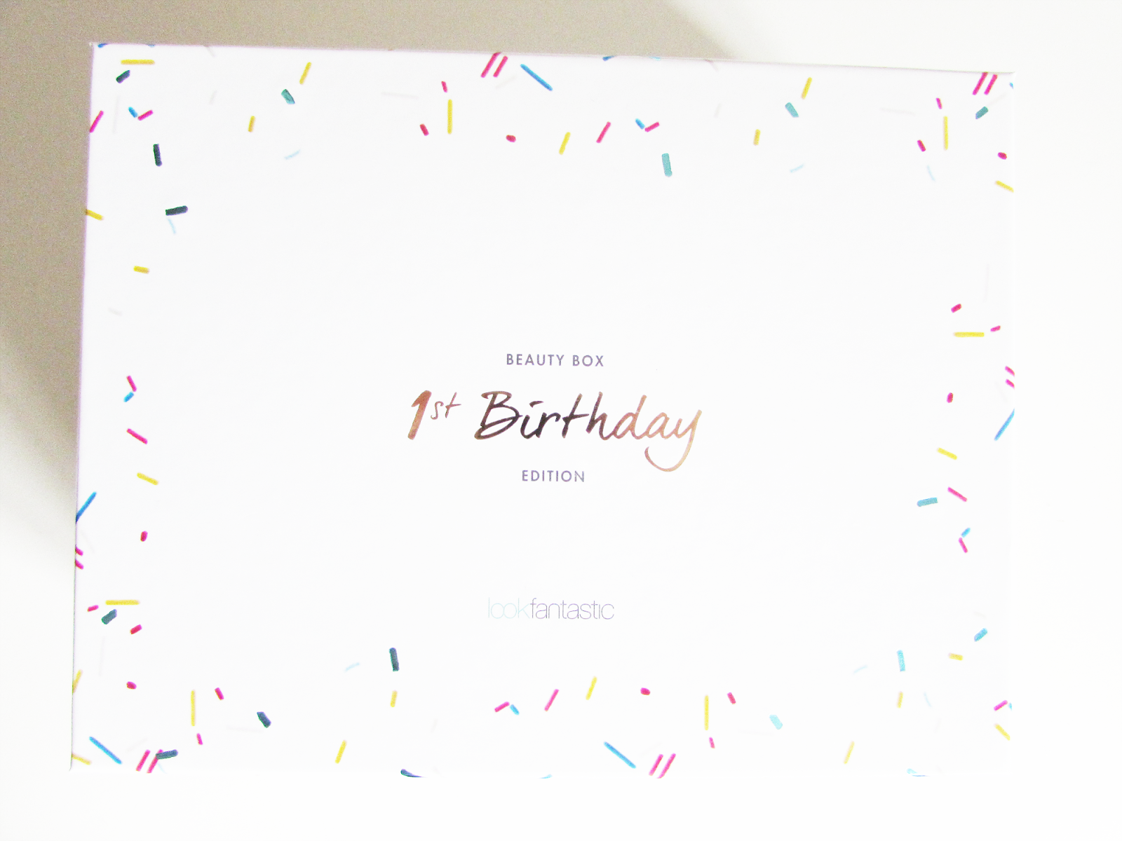 Look Fantastic September Beauty Box | 1st Birthday Edition!