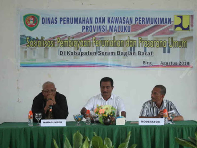 DPKP Maluku Gelar Sosialisasi Pembiayaan Perumahan dan Prasarana Umum di SBB