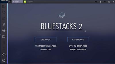 Bluestacks for Windows Vista