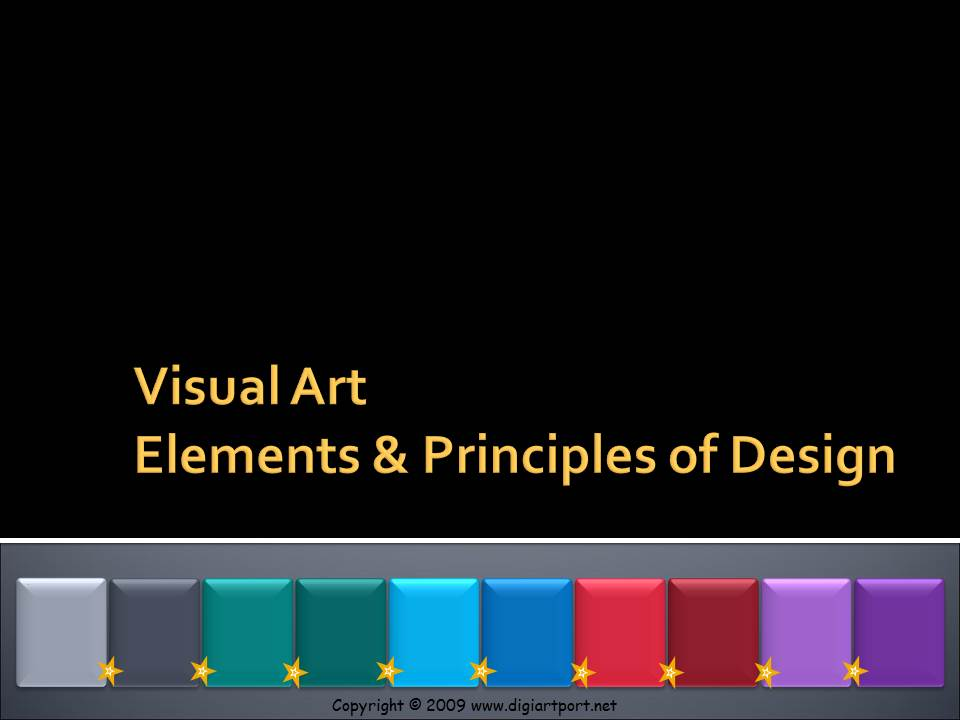 9 Principles Of Art : Anything to do with design visual art elements
