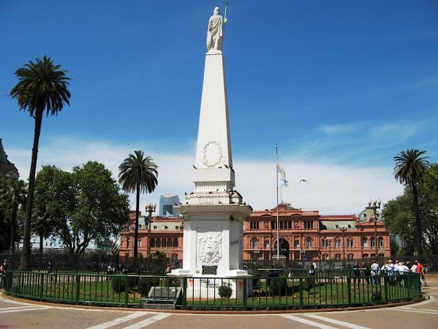 História da Plaza de Mayo