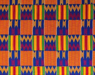 Art at Hosmer: Kente Cloth from Ghana