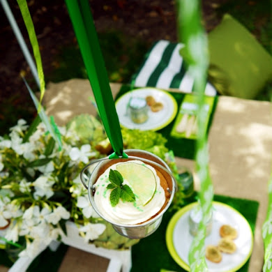 Green Garden Party with FREE Printables