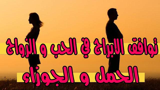 توافق الابراج في الحب و الزواج   الحمل مع الجوزاء