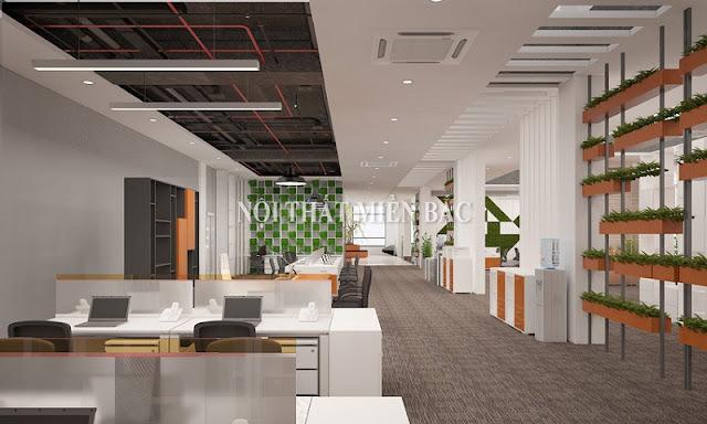 Tư vấn thiết kế phòng làm việc sáng tạo và chuyên nghiệp - H1