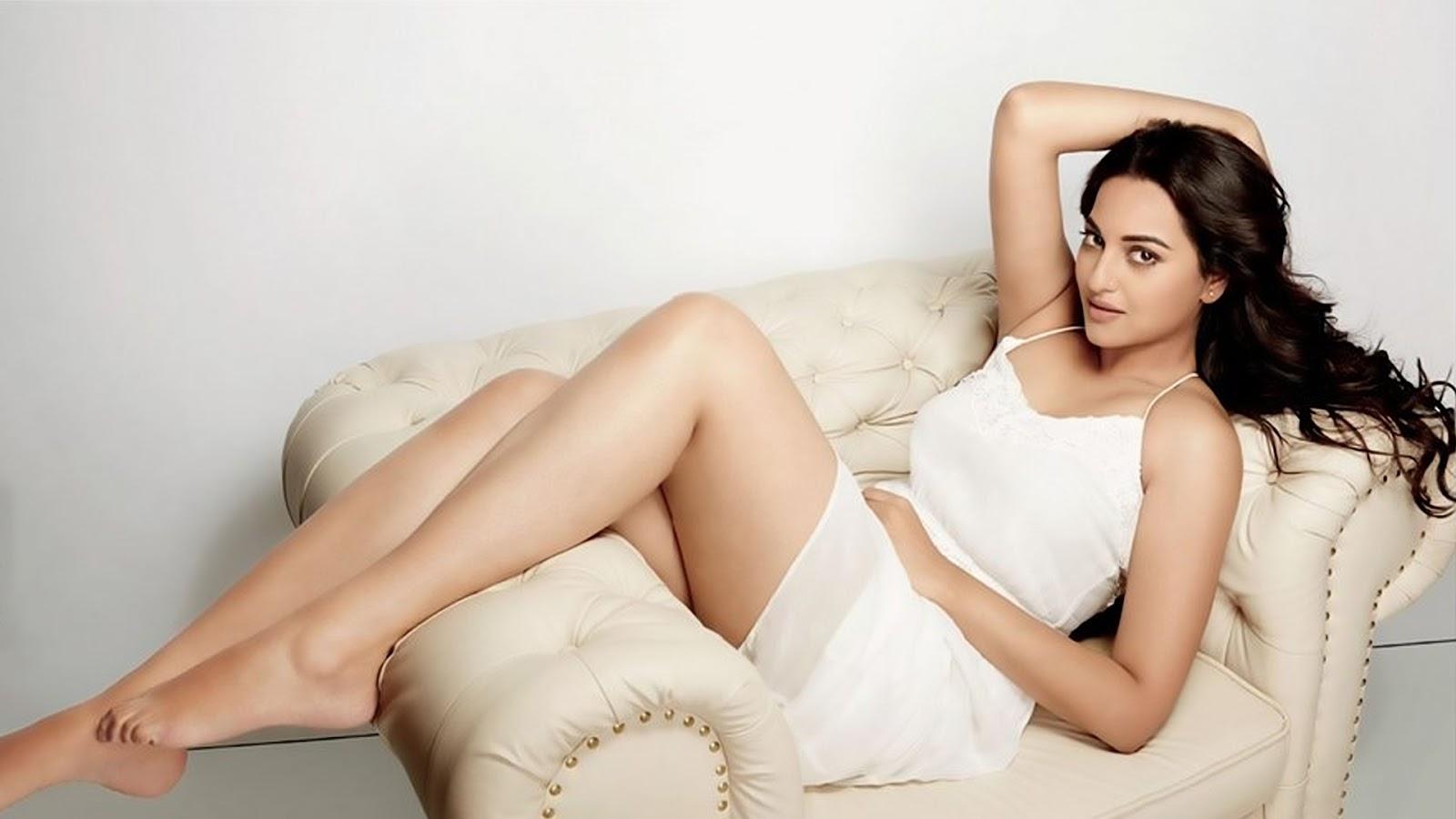 Nude Sonakshi Sinha Big Boobs Yellow Bra Nude Desi Actress