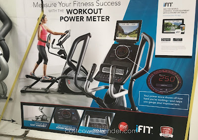 No excuses! Train properly with the ProForm Trainer 7.0 Elliptical