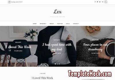 lex bloggeer template