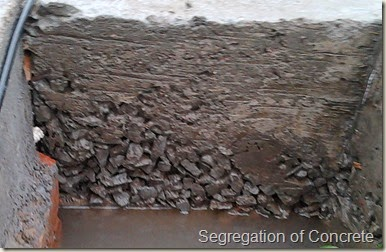 Segregation Of Concrete