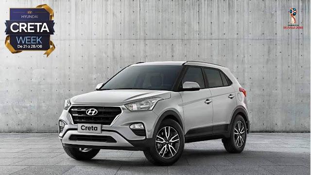 Hyundai Creta Pulse Plus 1.6 Automático - taxa zero