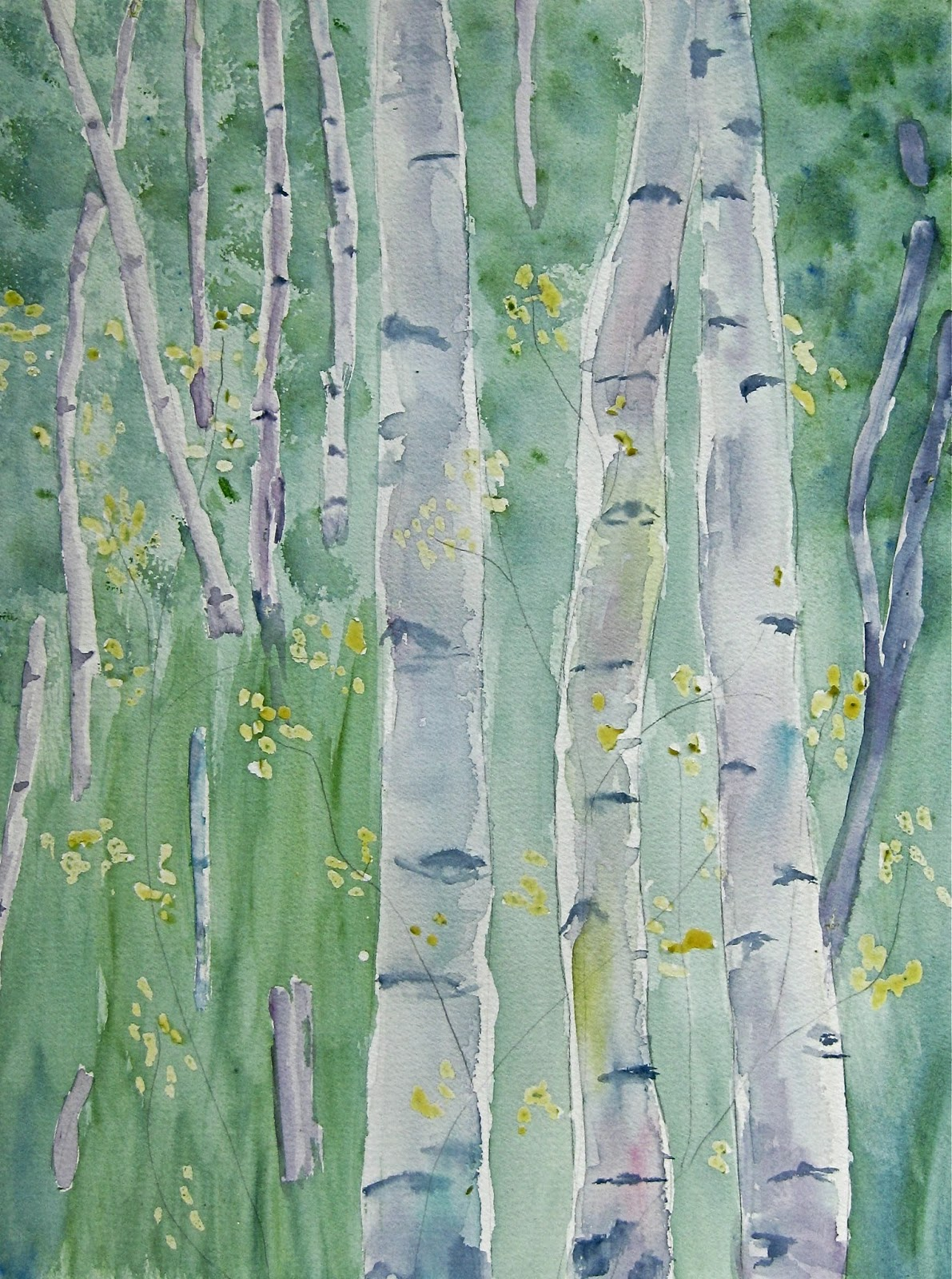 Bobbie Johnson Art: Another Spring Theme Painting