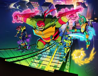 Nickelodeon Rise of the Teenage Mutant Ninja Turtles Cartoon Series