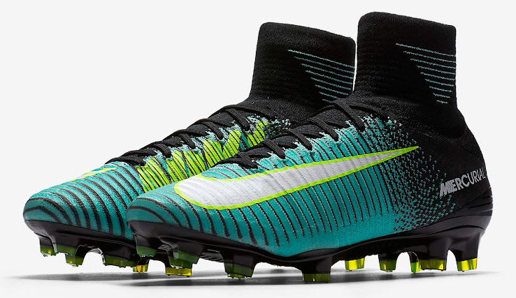 The new Euro 2017 collection brings a fresh update to the women s edition  of the Nike Mercurial Superfly V. These boots are available to buy from  July 1. bb9cf6d284
