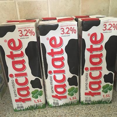 Mleko- Łaciate