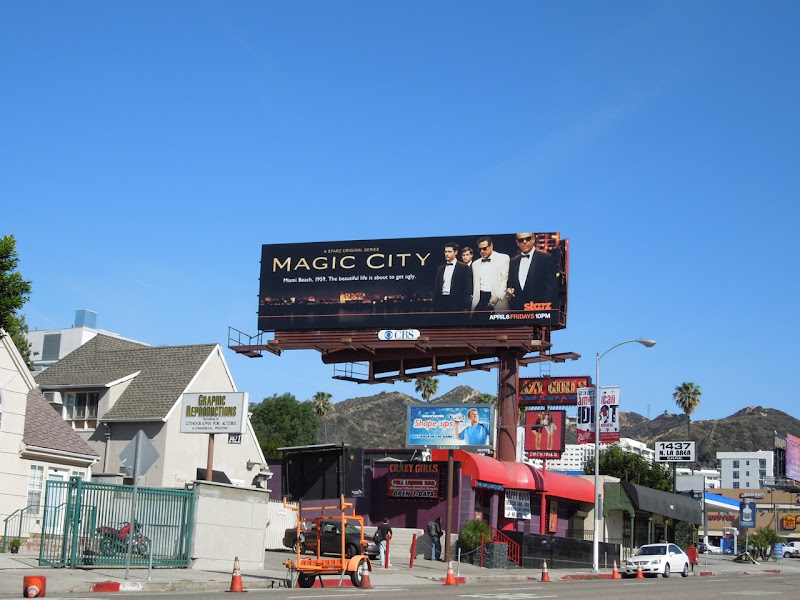 Magic City billboard