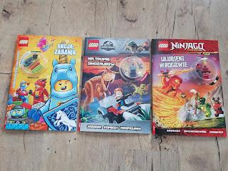 Atrakcyjne wakacje z dzieckiem Lego Ameet recenzja książki, zadania Lego
